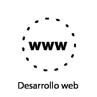 pictograma servicio desarrollo web 3